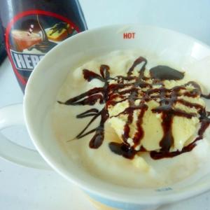 ☆生クリーム&アイスのせ♪ チョコアイスコーヒー☆