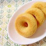 低糖質♪大豆粉の焼きドーナツ(o^^o)