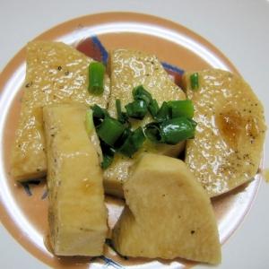 長芋のバター醤油炒め