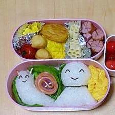 雨の日も楽しくなっちゃうお弁当