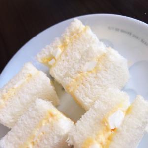 完了期の卵サンド
