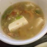 干しエビと豆腐のスープ