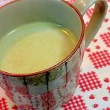 桑の葉青汁♡玄米♡きな粉ミルクティー♬