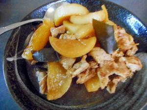 大根と豚肉の昆布煮