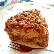 ベジタリアンの穀物コーヒーマーブルケーキ