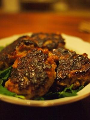里芋と豆腐のハンバーグ