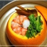 ひな祭りにもどうぞ♪ヘルシー「伊予柑寿司」