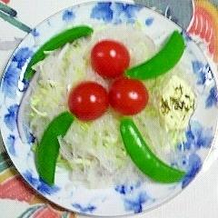 赤玉葱のサラダ~♪