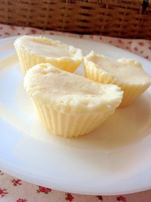 レンジで簡単♪米粉の蒸しパン