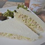 ツナとキャベツの朝サンドイッチ