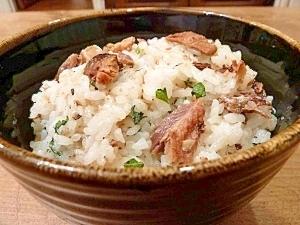 節約レシピ☆さんま蒲焼缶の混ぜご飯