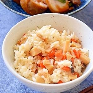 生姜とたけのこの混ぜご飯