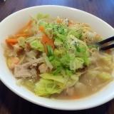スープも簡単に作れる☆ちゃんぽん麺
