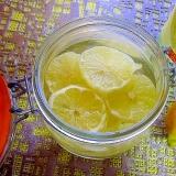 レモン酢⇒気軽にレモンのサワードリンク♪