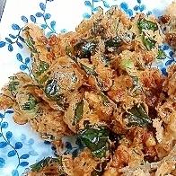 意外と臭くない!納豆と小松菜のマヨ天ぷら