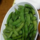 枝豆バター炒め
