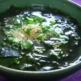 わかめのスープ