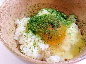 昆布つゆで☆卵かけご飯