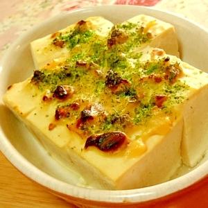 大人テイスト❤木綿豆腐の白味噌マヨナッツ焼き❤