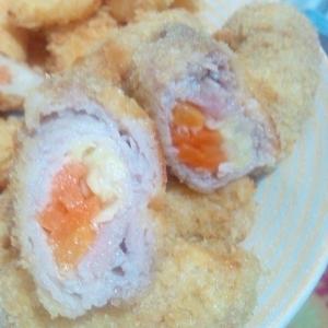 アレンジ自在☆野菜の豚肉巻きフライ
