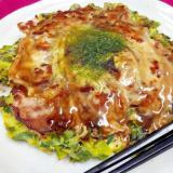 青ネギ&豚肉たっぷり♪(^^)簡単ネギ焼き♪