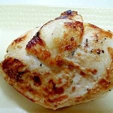 節約♪簡単♪鳥胸肉(もも肉)のステーキ・ハーブ風味
