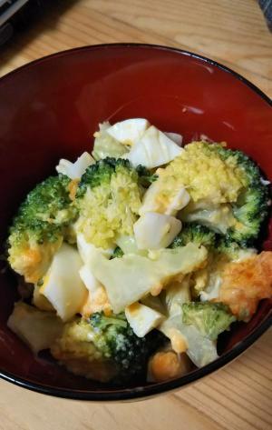優しい味わい!ブロッコリーのたまごサラダ