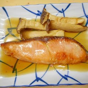 簡単☆鮭・エリンギの麺つゆひたし☆