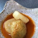 スープまで美味しい!スンドゥブの素で大根の煮物
