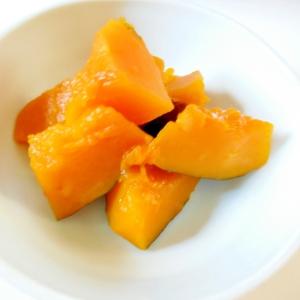 かぼちゃのごま油煮