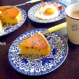 ラムレーズンホットケーキ