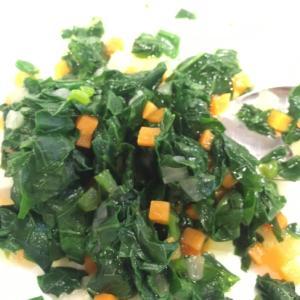 【離乳食完了期】小松菜とミックス野菜のおひたし