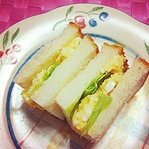 *玉子たっぷりサンドイッチ*