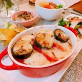 リピ決定♡茄子とトマトのミートグラタン