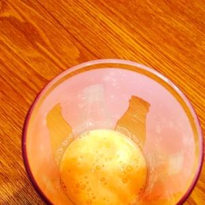 幼児食☆ミカン入りのヨーグルトドリンク