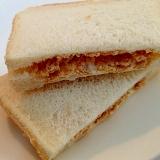 無花果ジャムと玄米フレークのミルキーサンドイッチ