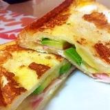 朝食☆クロックムッシュ