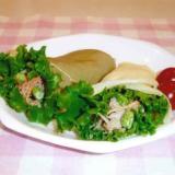 野菜たっぷり米粉のクレープサラダ