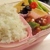 お弁当に☆しらすとゴマ・青のりの混ぜご飯♪