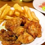レシピを教えてと言われた♪鶏のハーブ揚げ