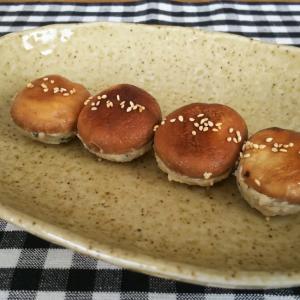 お弁当に可愛い☆ミニ椎茸の肉詰め