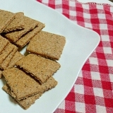 洗い物なし!栄養満点米ぬかクッキー