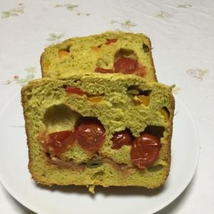 いろいろ野菜の食パンカレー風味