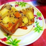 HMで♪ サツマイモとカボチャのパウンドケーキ☆