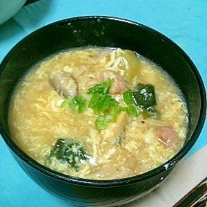 簡単♪サンラータンっぽいスープ(/・ω・)/☆