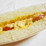 ウインナー入り ❤ 卵サンド
