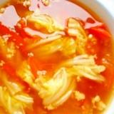 トマト、キャベツのスーブ