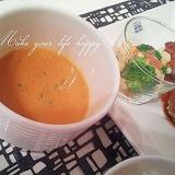 簡単☆かぼちゃのスープ(生クリーム、牛乳なしで)