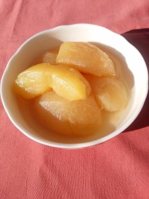 やわらかくて甘くて美味しい煮りんご!