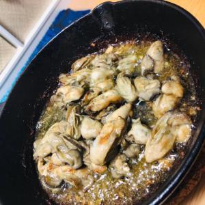 牡蠣スキレット